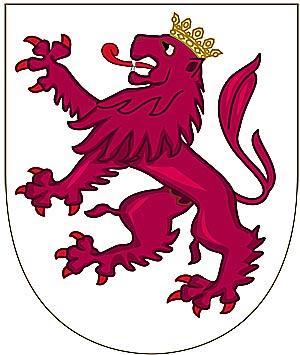 Вторая четверть герба �спании - герб королевства Леон