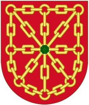 Четвертая четверть герба �спании - герб королевства Наварра