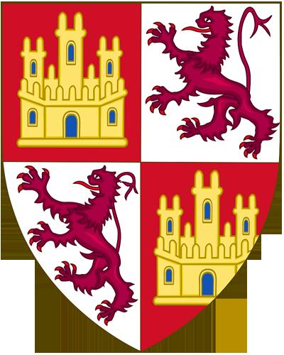 Герб Кастилии и Леона в XIII веке