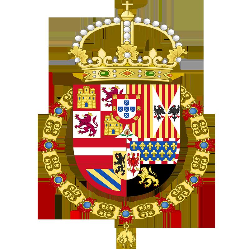 Герб �спании в 1580 - 1668 г.г.