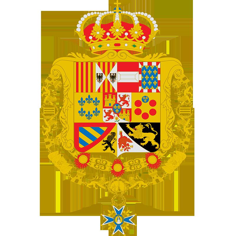 Герб �спании в 1759-1808, 1813-1868 г.г.