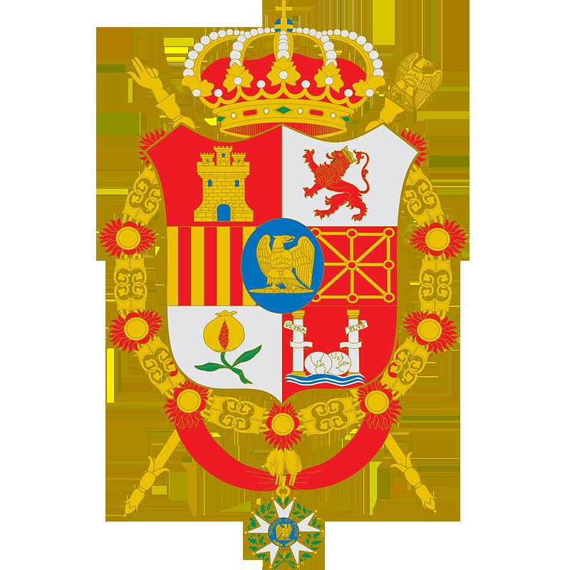 Герб �спании в 1808 - 1813 г.г.