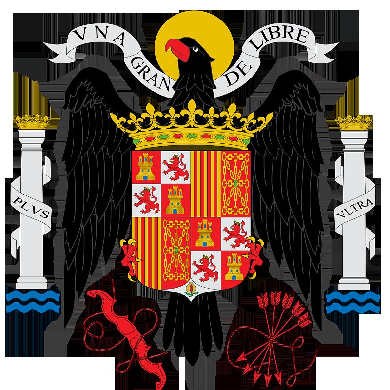 Герб �спании в 1938 - 1945 г.г.