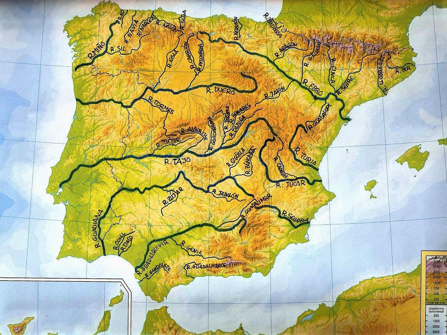Речная система Испании