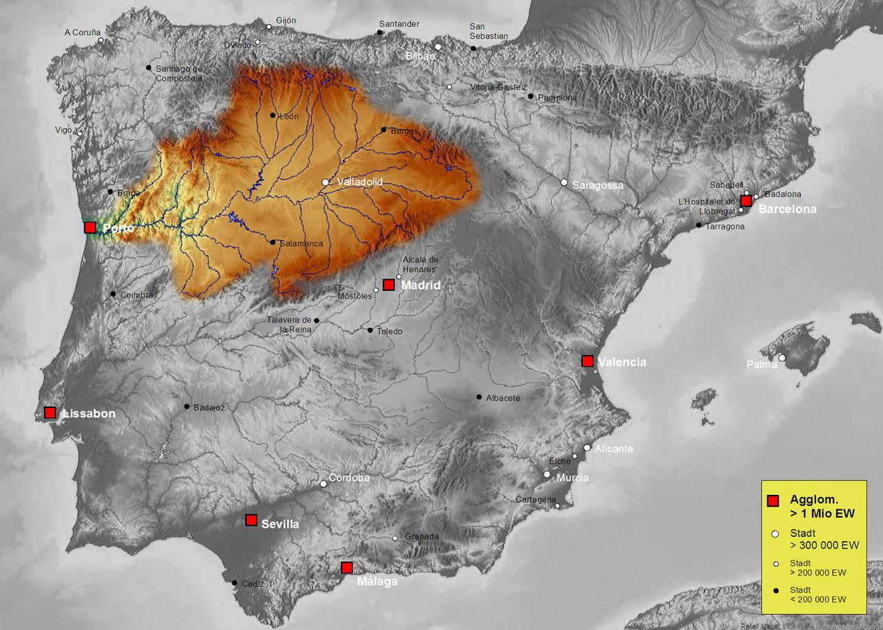 Бассейн реки Дуэро (Duero)