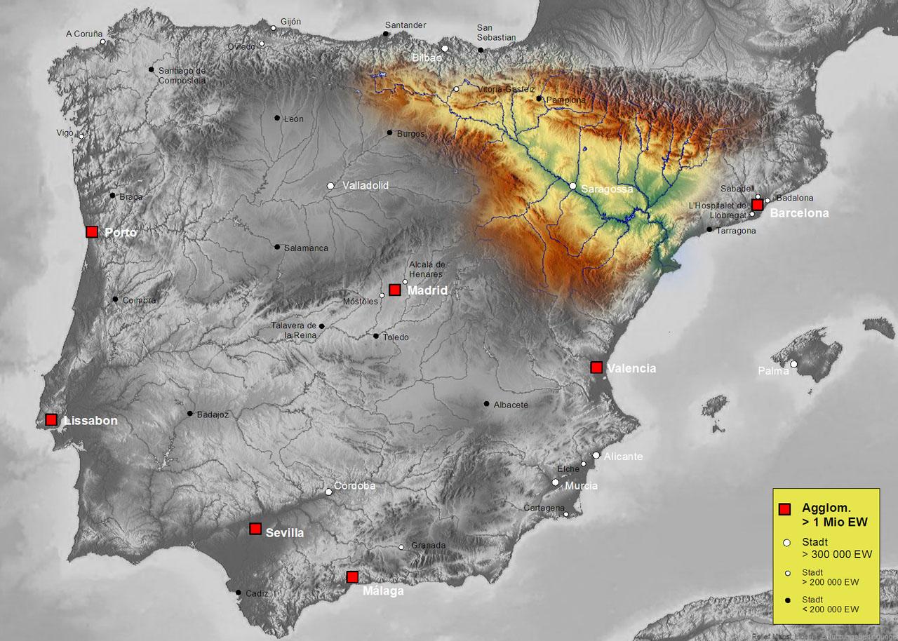 Бассейн реки Эбро (Ebro)