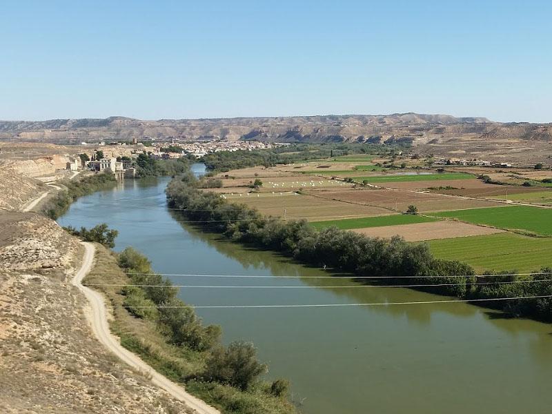 Река Эбро (Ebro) в Испании